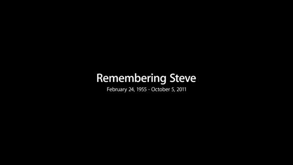 Remembering steve