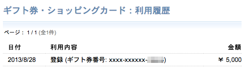Mizuho amazon gift certificate